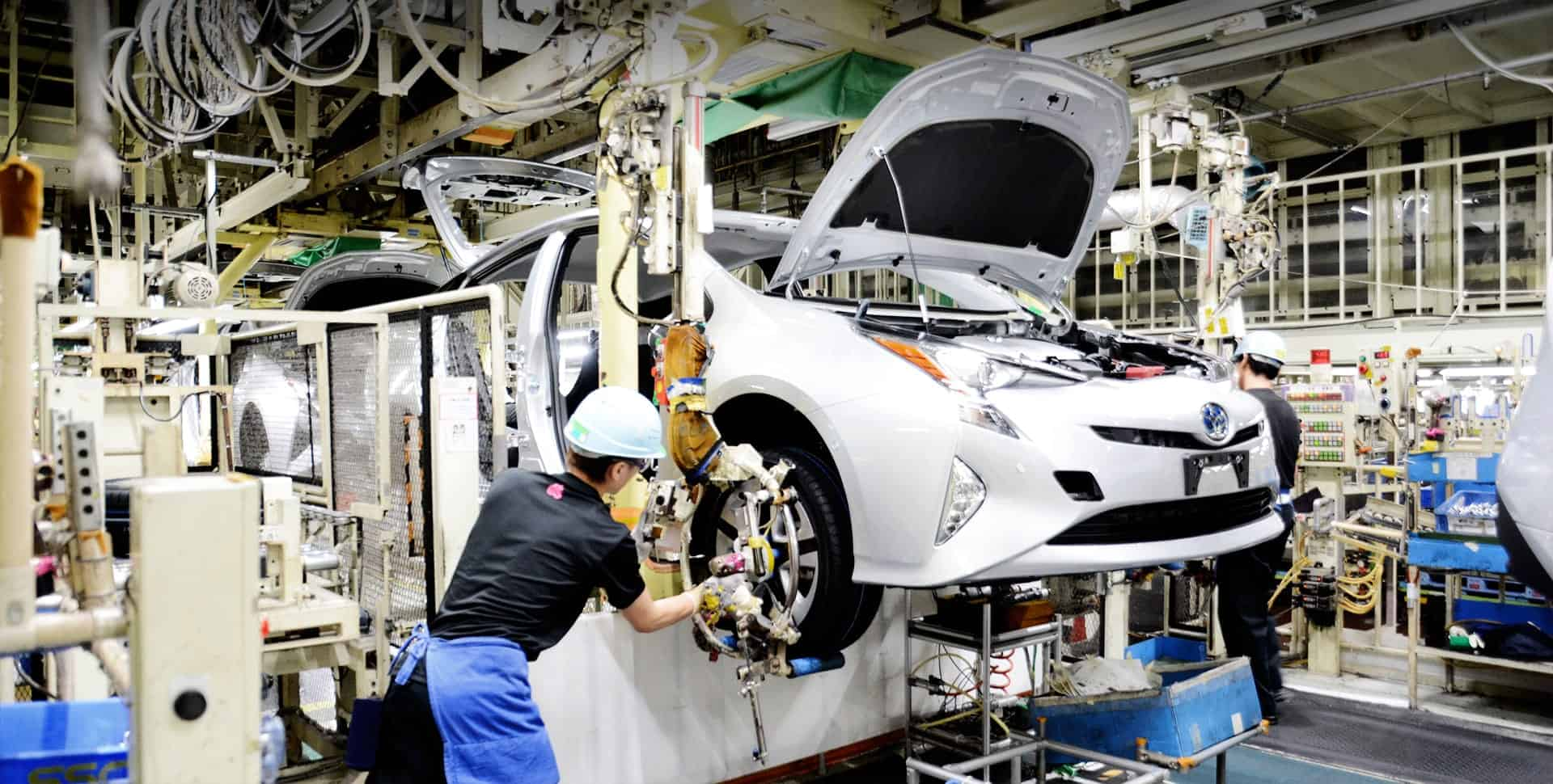 Final Assembly of a Toyota Car